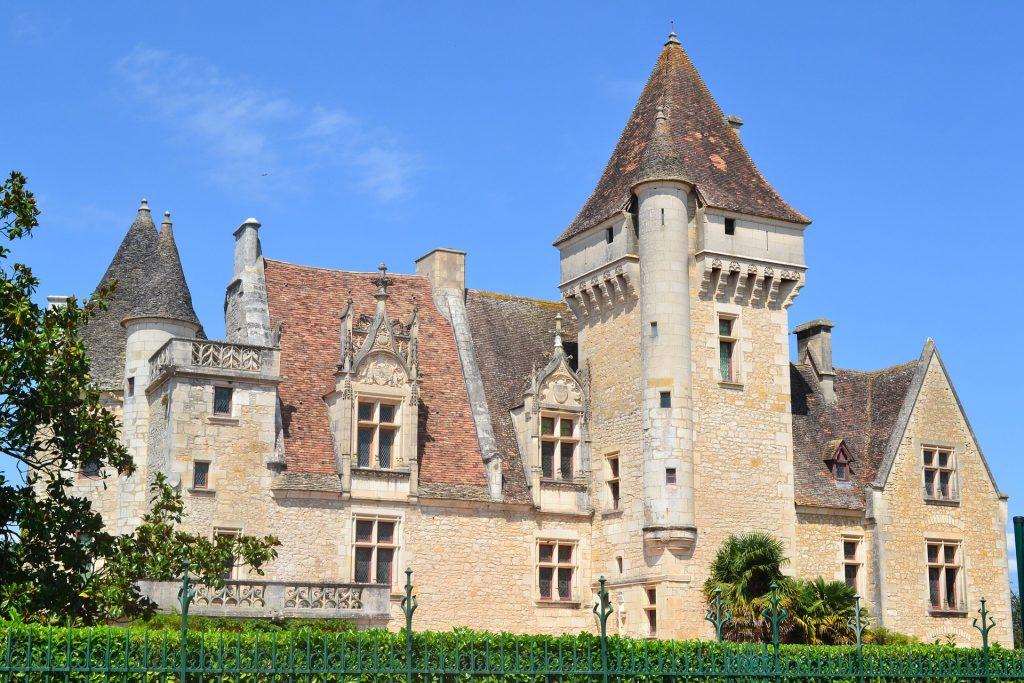 châteaux à visiter en Dordogne